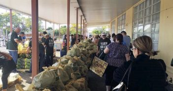 Provided food to an estimated 800 families at a food distribution in the City of Hialeah