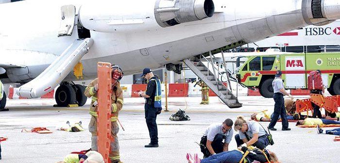 Exitoso simulacro de incidente en el Aeropuerto Internacional de Miami con el Hospital de Hialeah